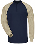 Bulwark Flame Resistant Excel-FR™ Color Blocked Henley Shirt